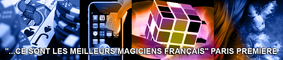 bandeau Magicien Bordeaux. Close-up et spectacle de magie � Bordeaux